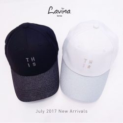 [Bershka] Our newest series of Glitter Caps are now available at all Lavina outlets!