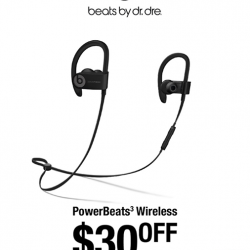 [Mad for Garlic] Calling all Beats audio lovers, Power Beats 3 Wireless now $30 off usual price, now $238!