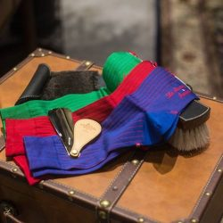 [STRAITS ESTABLISHMENT] La Chausette Francaise - exquisite dress socks hand made in France.