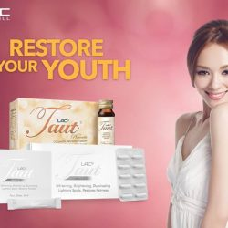 [GNC Live Well Singapore] Wake up to radiant, youthful looking skin with our LAC Taut series.