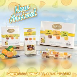 [Candylicious] Caffarel new soft drink jellies is now available in stores!