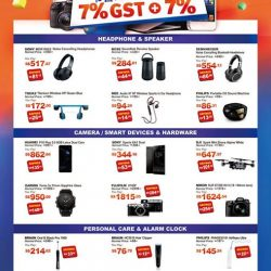 [E-Gadget Mini] Last 3 days(July14,15,160 to get your latest gadgets, cameras, speakers, lifestyle products at 7+7%GST instant