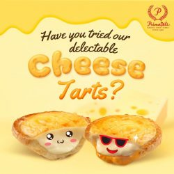 [PrimaDeli] Have you tried our delectable Cheese Tarts?