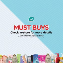 [Watsons Singapore] Enjoy BUY 2 GET 1 FREE MIX AND MATCH deals on your favourite picks across participating brands like Bio-Essence,