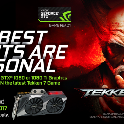 [ASUS] The best fights are personal - STAND TO WIN* the Tekken 7 game with any purchase of ASUS GeForce GTX 1080