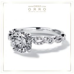 [ORRO Jewellery] Be amazed at our versatility & commitment at ORRO in giving you the most gorgeous & unique of ring designs.