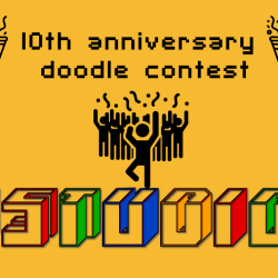 [iStudio] Today is the last day to submit your entry for our 10th Anniversary doodle contest and stand to win $500
