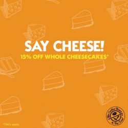 [The Coffee Bean & Tea Leaf® - Singapore] Saying 'Cheese' can put a smile on your face in more ways than one.