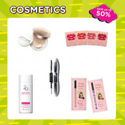 [Watsons Singapore] Look good, feel great with glamorous cosmetics deals!