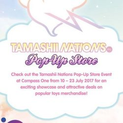 [Arnold Palmer] Check out the Tamashii Nations Pop-Up Store Event at Level 2 Atrium, from 10 – 23 July for an exciting