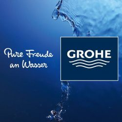 [GROHE SPA] PURE FREUDE AN WASSER Pure Freude An Wasser means Pure Joy of Water.