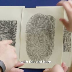 [POSB Autolobby] Back in the days, bank tellers identified customers by matching their fingerprints with their bank books.