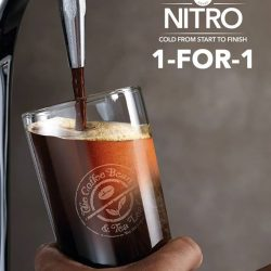 [The Coffee Bean & Tea Leaf® - Singapore] Bold, mysterious and velvety smooth — the Nitro Cold Brew is a drink like no other.