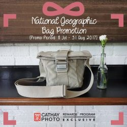[Cathay Photo] Take the inner fashionista in you for an adventure with this vintage-inspired bag, National Geographic's P2025 Medium Holster.