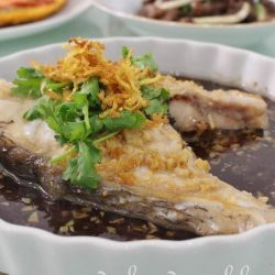 [THE SEAFOOD MARKET PLACE BY SONG FISH] Steamed Threadfin Fish (Ma Yau) with Soy SauceOne of the Chinese most favoured dish is steamed fish.