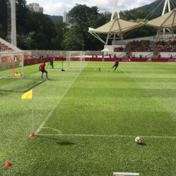 [WESTON CORP] The Weston Team Was At The Mong Kok Stadium In HK For Yesterday's @liverpoolfc Training Session.