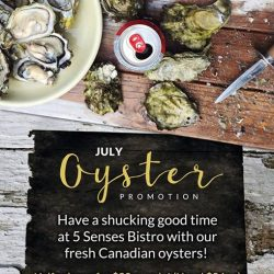 [ToTT Store] Come have a shucking good time with us at 5 Senses Bistro at TOTT!