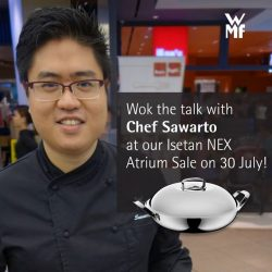[WMF] Our woks run deep, but Chef Sawarto's knowledge of gourmet cuisine runs deeper!