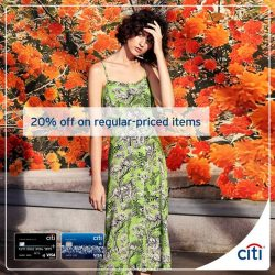 [Citibank ATM] Refresh your look at BCBGMAXAZRIA, Karen Millen and Warehouse this GSS.