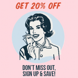 [Typo] Want 20% off your next in store or online purchase?
