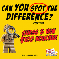 [Bricks World (LEGO Exclusive)] Spot the Difference ContestHow good are you in spotting differences?