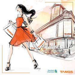 [Tangs] Exclusively for Standard Chartered Credit Cards only!
