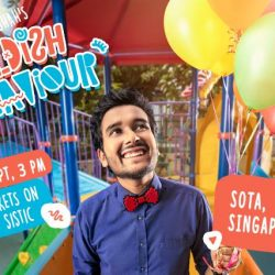 [SISTIC Singapore] Tickets for Evam presents Childish Behaviour by Sahil Shah goes on sale on 21 July.