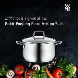 [WMF] Discover the brilliance to take your culinary skills to the next level at our Bukit Panjang atrium sale, from 10 -