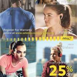 [Nübox] Get fit with Jabra choosing from Jabra Elite Sport, Sport Coach SE, Sport Pulse SE or Move & Rox models.