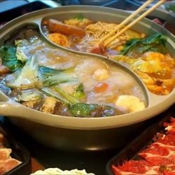 [SUKI-YA] Which are the 2 soup bases combination you love the most?
