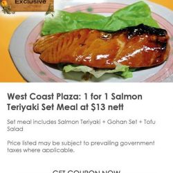[Fish Mart Sakuraya] Want to enjoy 1 for 1 Salmon Teriyaki Set Meal?