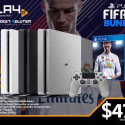 [GAME XTREME] PS4 FIFA 18 Bundle【PROMO DURATION】 While Stocks Last【DETAILS】 Soccer season is coming back soon, and we all know