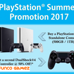 [Funco Gamez] PlayStation 4 Summer Promotion ~!