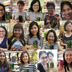 [Bottea Verde] Glad to see so many happy winners of our Mother's Day Spin & Win Event claiming their free products every