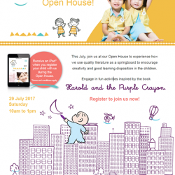 [The Little Skool-House] Join us at our Open House on Saturday, July 29th to experience our unique Literacy-based curriculum!