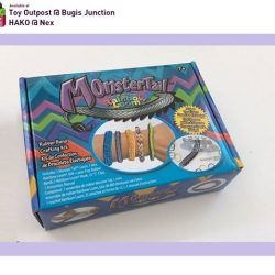 [Toy Outpost] The Monster Tail by Rainbow Loom Kit is a craft kit comprised of latex-free rubber bands, a loom and