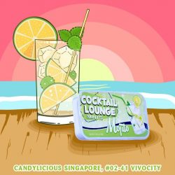 [Candylicious] Impress the party with AmuseMints classic cocktail, Mojito flavoured mint.