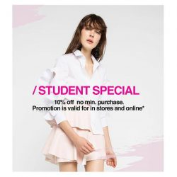 [OSMOSE Singapore] Students Special | Troubled with graduating or interview approriate outfits?