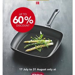 [Kitchen + Ware] Enjoy up to 60% off at Scanpan Pop-Up store at Kitchen+Ware Waterway Point, for a limited time only!