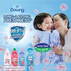 [Cold Storage] Keep fresh with Downy's Fabric Conditioner!