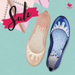 [Jelly Bunny] JELLY BUNNY END OF SEASON SALE• SHOES : MELINA MELT / ROSE GLITTER , NAVY SILVER / 3 $.
