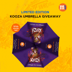 [M1] Limited edition KOOZA Umbrella up for grabs!