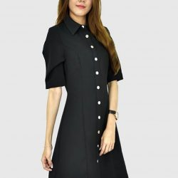 [MOONRIVER] Rebecca Button Front DressUp to 50% for regular items and up to 70% off for sale items.