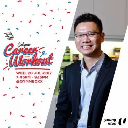[GYMM BOXX Silver] Meet our CEO Mr Tan Tse Yong, the founder of Fitlion & GYMMBOXX on 26th July at GYMMBOXX Kent Ridge!