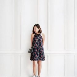 [KIYO Shoes] Always room for another fuss-free swing dress.