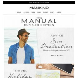 [Mankind] The Manual: Summer Edition