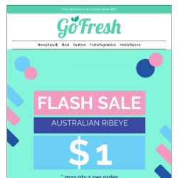 [GoFresh] GoFresh National Day Holiday is round the corner. Do we hear a party?
