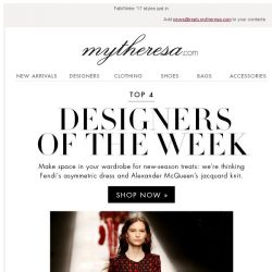 [mytheresa] This week's top designers + free shipping