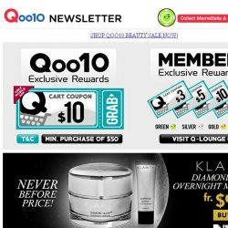 [Qoo10] Fantastic Wednesday Sale! Save Up to 80% Off! While Stocks Last! Grab Them All Now!