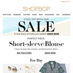 [Shopbop] The top every girl needs in her wardrobe